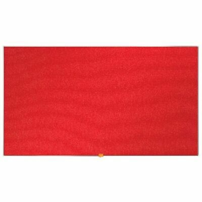 "NEW! Nobo Widescreen 55"" Red Felt Noticeboard 1220x690mm 1905312"