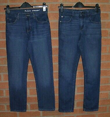 CHILDRENS PLACE Boys TWO Pairs Blue Denim Jeans Age 12