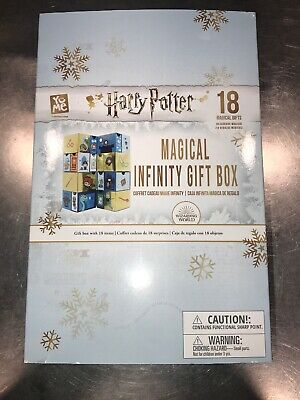 New Harry Potter Infinity Magical Gift Box Advent Calendar 18 Days Set Surprise