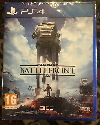 Star Wars Battlefront 2 PS4 Sony Playstation 4 NEW Standard Edition Sealed