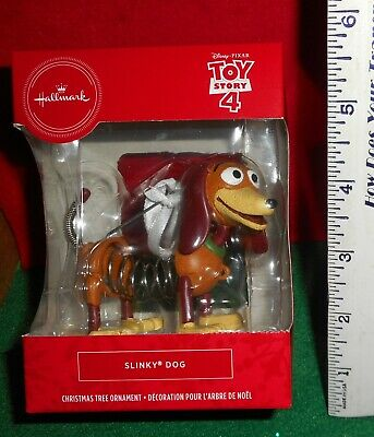 Hallmark   Disney   Toy Story 4   [  Slinky Dog ]   Ornament  Nib