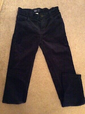Lovely Pair of Boys Next Navy Skinny Cords   - Age 11 Years