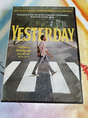 Yesterday (DVD, 2019) NEW and FREE SHIPPING USA