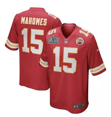 Patrick Mahomes Jersey 2020 Super Bowl LIV Patch Kansas City Chiefs Preorder #15