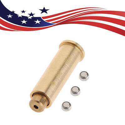 US CAL.38 Brass Red Dot Laser Sight Cartridge Boresighter Bore Sighter F Hunting