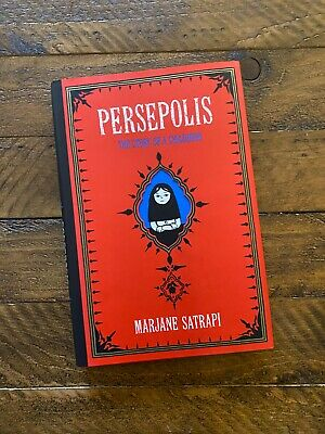 Persepolis The Story Of A Childhood By Marjane Satrapi English Hardcover Book 18 65 Picclick