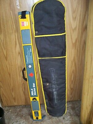 (A) Radiodetection PDL-4 Cable Pipe Utility Locator Vector Bar With Case