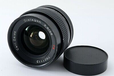 [Excellent++] Contax Carl Zeiss Distagon T* 28mm f/2.8 MMJ from Japan #540944