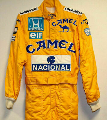 Ayrton senna Camel Replica Embroidered patches suit
