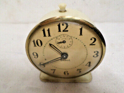 Very Collectable 1940's Signed Gilbert American Alarm Clock