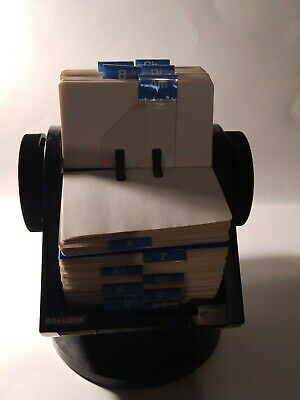 Vintage Rolodex Full Of Unused Cards