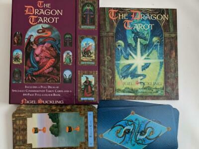 The Dragon Tarot - Cards and book - Nigel Suckling - 2005 First edition - as new