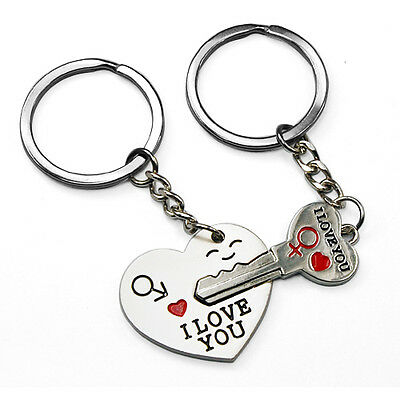 Valentines Day Gifts Lover For Him Her Keyring Keychain Love Couple Gift Present