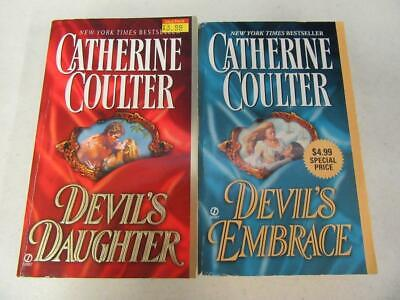 COMPLETE SET Lot (2) CATHERINE COULTER Historical Romance Books GEORGIAN SERIES