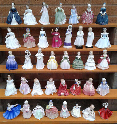 Royal Doulton Ladies - Selection Of Small Figurines.