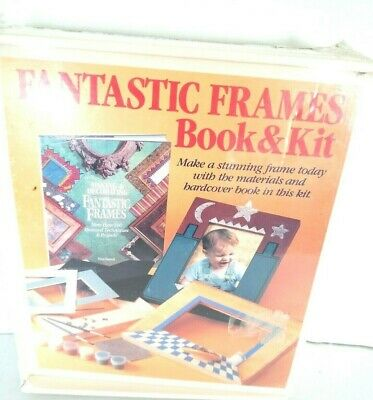 Sterling Making And Decorating Fantastic Frame & Book Kit 1993 Sealed