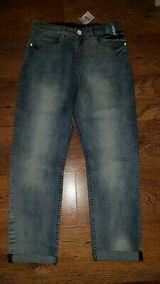 Next Boy's Jeans loose fit  age 13 Years Blue new