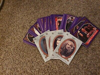 1991 Topps The Addams Family Movie Trading Cards - 6 Stickers & 65 Cards