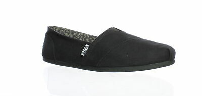Bobs By Skechers Womens Peace & Love Black Casual Flats Size 9.5 (734248)