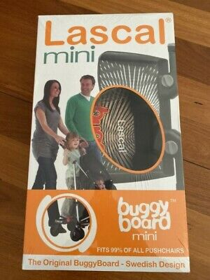 Lascal Buggy Board Mini in Black - New Never Used. Boxes Water Damage - No Box