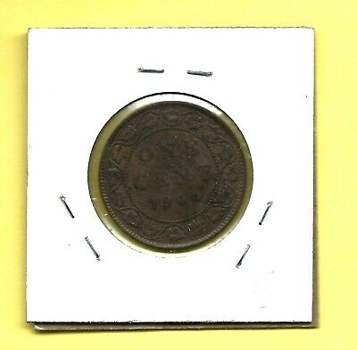1904 Canada Large Cent Penny 1 Cent Fine Coin!