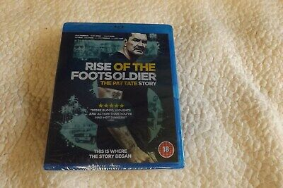 rise of the footsoldier the pat tate story blu ray Brand New sealed