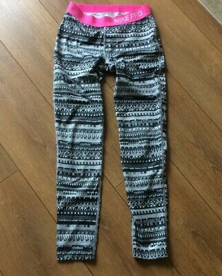 Girls Nike Pro Gym Leggings Age 12/13 Years New Without Tags