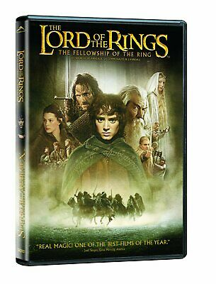 The Lord of the Rings: The Fellowship of the Ring OOP 2-disc Theatrical DVD