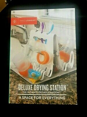 NEW Prince Lionheart Deluxe Drying Station Baby Infant Cleaning Bottle