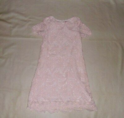 YD at Primark Pink Lace Dress Age 8-9 Years