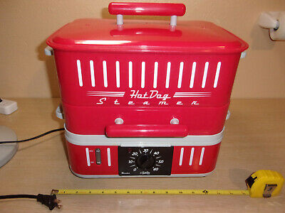 Cuizen Electric Hot Dog Steamer/Bun Warmer Tested And Works