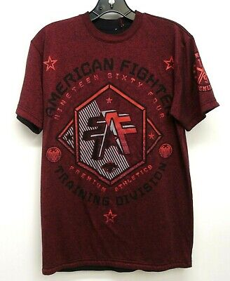American Fighter Men/'s Bellbrook Tee Shirt Rusted Red