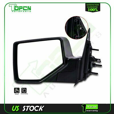 Pair Side Power Mirrors fits 06-11 Ford Ranger Pickup Textured Set w// Smooth Cap