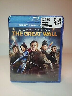 The Great Wall Blu-ray DVD Digital Copy NEW SEALED