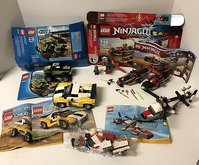 Lego Lot Creator 31046 Fast Car 31020 Twin blade Ninjago 70600 City 60055 *READ*