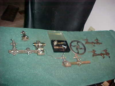 Large Assortment Of Antique 19Th Century Watch Makers Lathe Tools..very Nice!