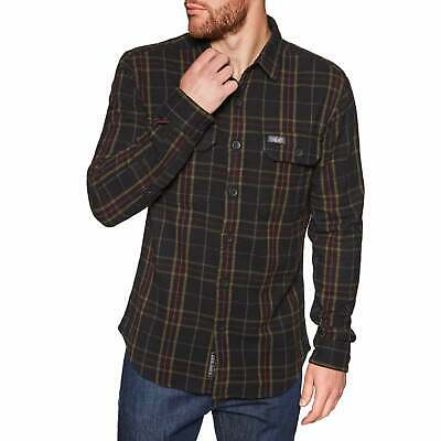 CHEMISE SUPERDRY MERCHANT Milled Storm Red Check EUR 61,57