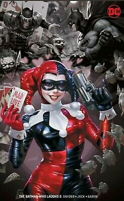 Batman Who Laughs #5 Derrick Chew Harley Quinn Cover (Limited to 1200)