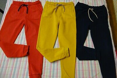 Boys M&S Joggers Bundle Age 6-7 Years Jogging Bottoms Trousers