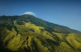 new mountain shoulders Indonesia cool high