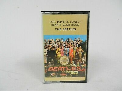 SGT. Pepper's Lonely Hearts Club Band - The Beatles Music Cassette Tape