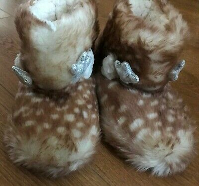 Marks and Spencer Girls Slipper Boots - Size 13 - NEW