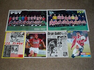 PSV EINDHOVEN FC  -  Shoot magazine Photos, Articles & Cuttings Pack