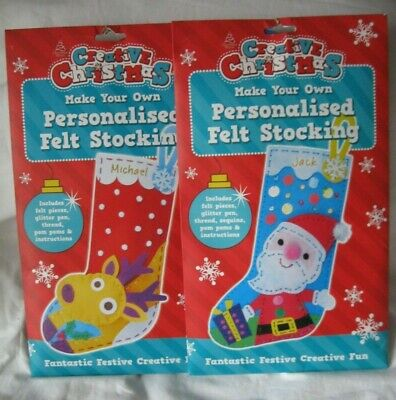 On The Shelf Accessories 2 X Personalised Christmas Stocking Elf Props Crafts