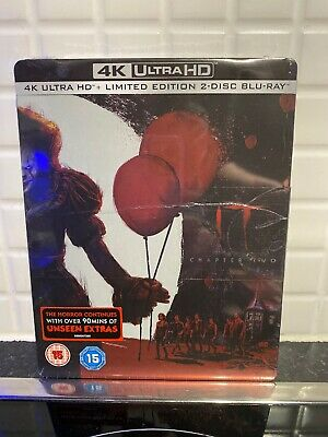 IT Chapter Two (4K Ultra HD + Blu-ray Steelbook) James McAvoy,Jessica Chastain