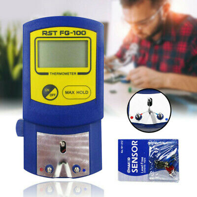 FG-100 Digital Display Soldering Iron Tip Thermometer Thermocouple Temp Tester