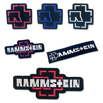 Rammstein Music Band Biker Jacket collection iron or Sew On Embroidered Patch