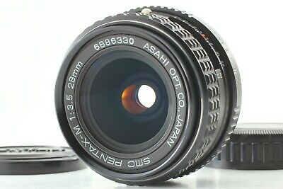 [Top MINT] SMC PENTAX-M 28mm f/3.5 K Mount Wide Angle MF Lens from Japan #279