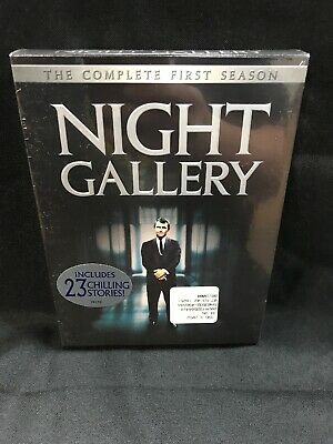 Night Gallery - The Complete First Season NEW SEALED (DVD, 2004, 3-Disc Set)