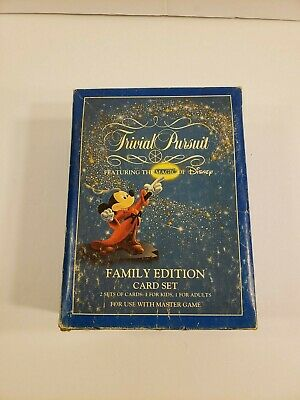 Vintage 1991 Trivial Pursuit Featuring the Magic of Disney Family Edition Game